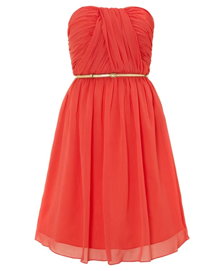 Untold chiffon bandeau dress (£35, originally £115)