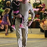 Eric Dane made a shopping trip with his daughter, Georgia, in LA.