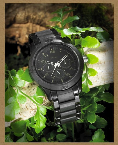 Sprouting an Eco Timepiece