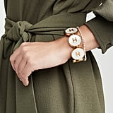 What Goes Around Comes Around Chanel Gold Mop Coins Cuff