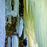 Eben Ice Caves, USA