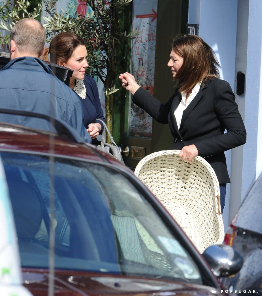 Kate Middleton and her mom Carole shopped for baby gear.