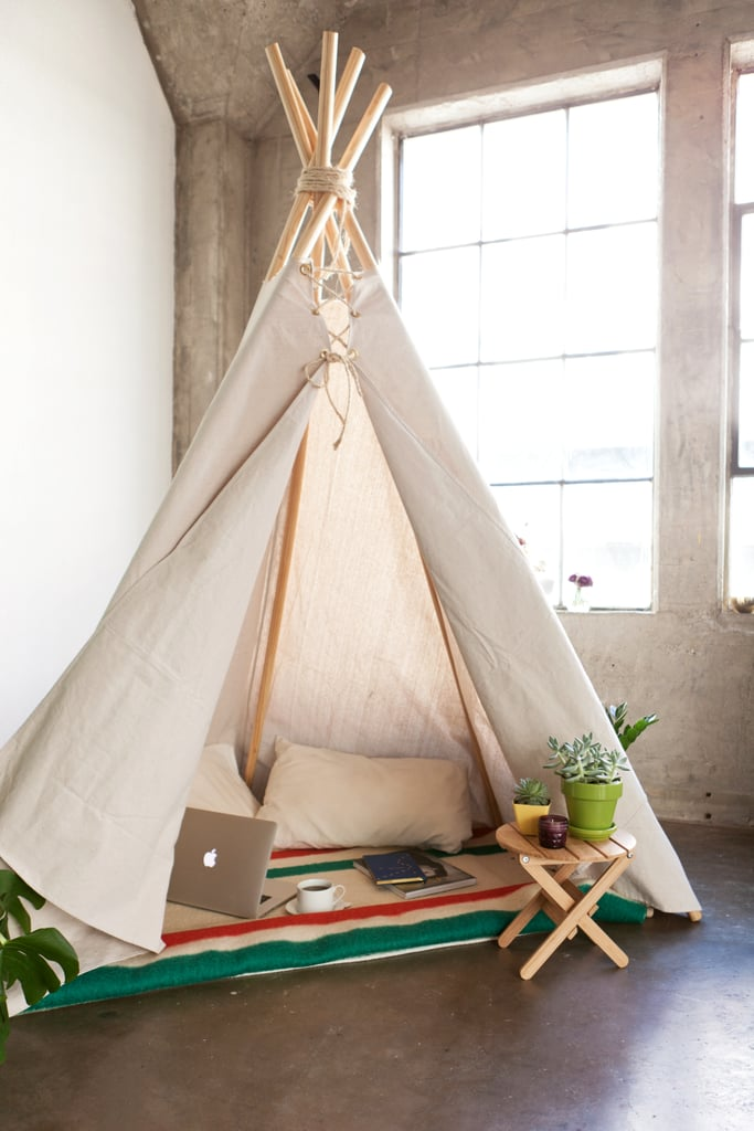 Go glamping in your living room