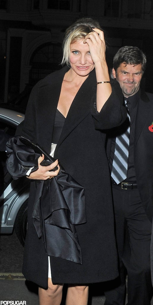Cameron Diaz was out in London.