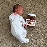 Baby vs. Nutella.