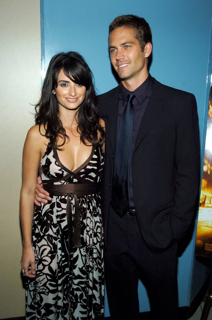 Paul Walker and Penélope Cruz posed together at the NYC premiere of Noel in November 2004.