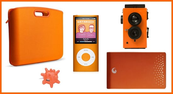 Technicolor Toys: Orange Gadgets and Accessories