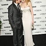 The couple at the Glamour Women of the Year Awards in NYC in Nov. 2008.