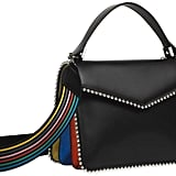 Les Petits Joueurs Pixie Rainbow Leather Top Handle Bag