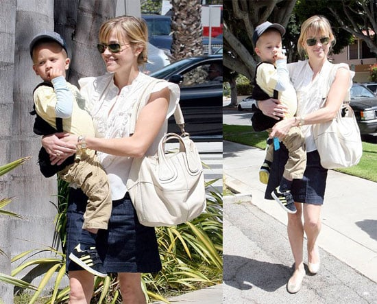 Reese Heads Out with The Most Important Man in her Life