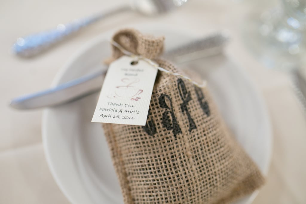 Mini Coffee Bean Bags Easy Diy Wedding Favors Popsugar Smart