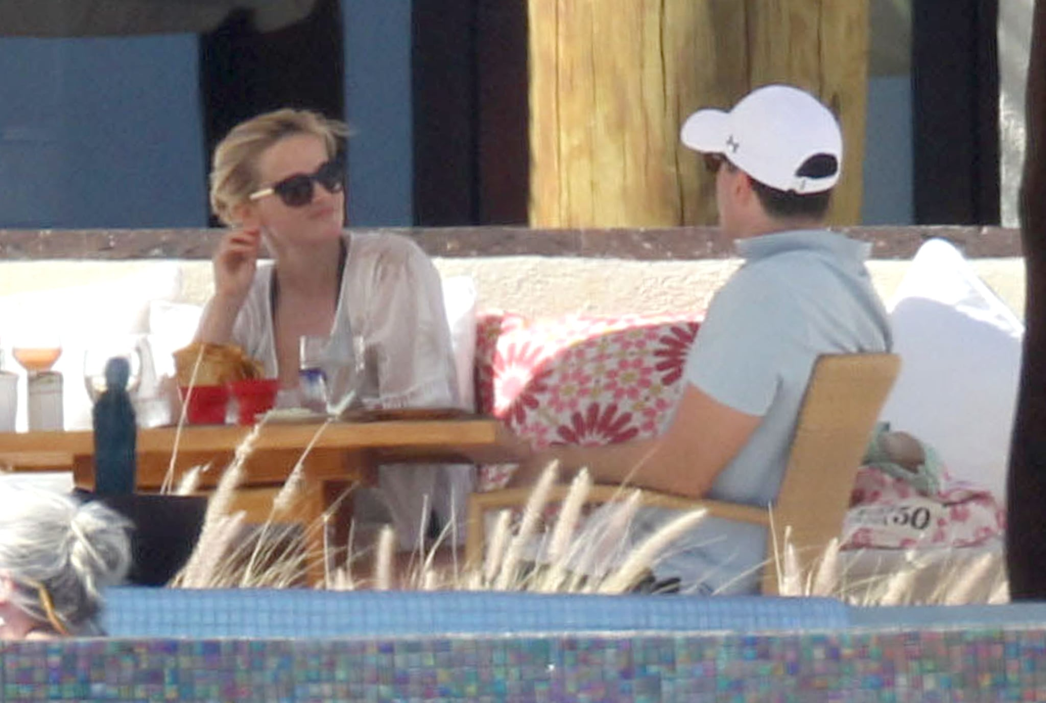 Reese Continues the Celebrations in Mexico With Jim