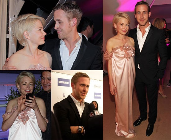 Pictures of Ryan Gosling And Michelle Williams at The Afterparty For Blue Valentine During The 2010 Cannes Film Festival