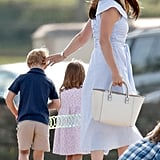 "We know that look of Kate's. It says: ""Please. Please let them be satisfied with this plaything for a while, otherwise this is going to be a long-ass day once they figure out this isn't Mary Poppins's purse."""