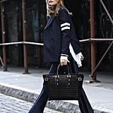 Olivia Palermo Carrying the Marylebone Tote