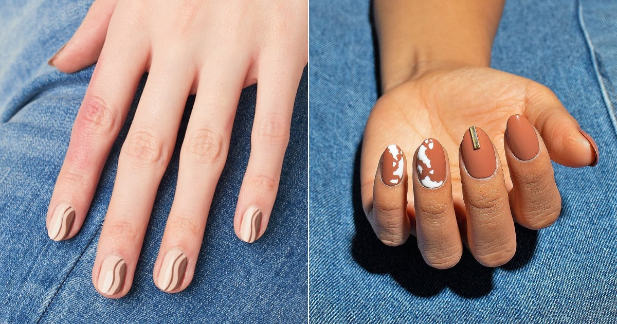 Animal Print, Curvy Shapes, and More — These Are the Top 5 Nail-Art Trends For Fall