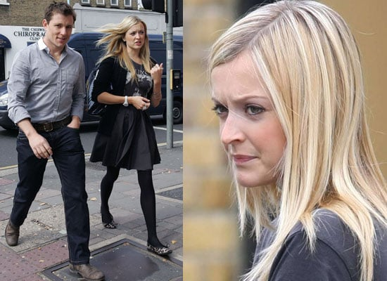 Photos Of Fearne Cotton And Ben Shephard Out For Lunch In South London