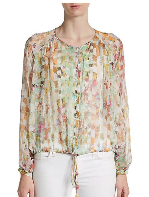 Elizabeth and James Benji Silk Blouse