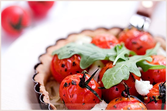 Yummy Link: Fennel and Cherry Tomato Tartlet