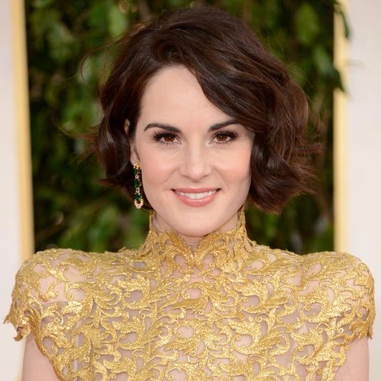 Pictures of Michelle Dockery at the 2013 Golden Globes