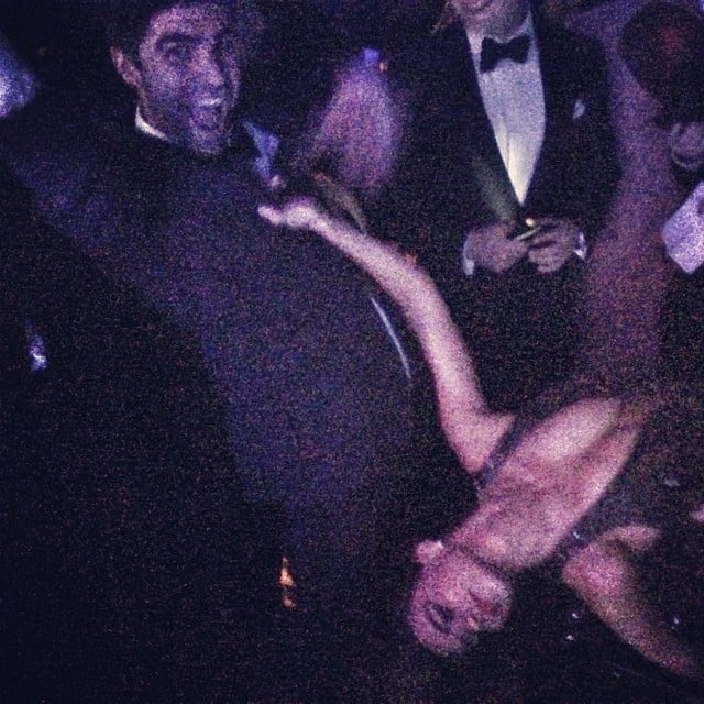 Sofia Vergara hit the dance floor with Jesse Tyler Ferguson's guy. Source: Instagram user jessetyler