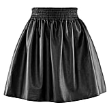 Leather skirts are everywhere right now, but I love the shape of this one (£24.99).