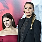 Blake Lively and Anna Kendrick at the Premiere of A Simple Favor