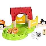 Brio My First Farm Wooden Toy Train Set
