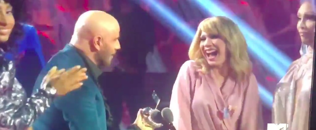 John Travolta Mistakes Jade Jolie For Taylor Swift at VMAs
