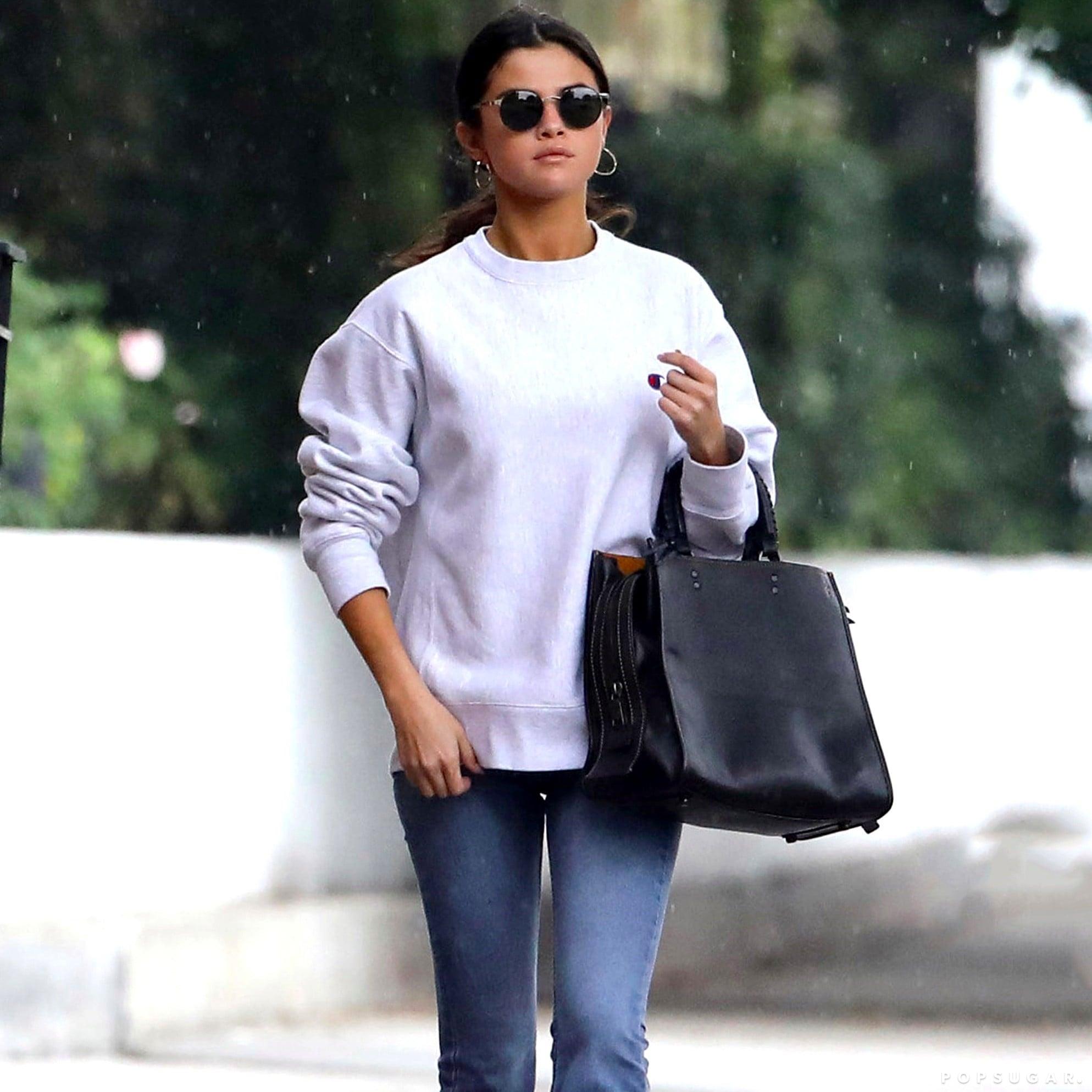Selena Gomez Shares a Closet With The Weeknd   POPSUGAR Fashion