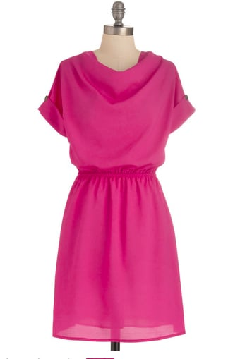 Sport this pink dress whenever you need an instant perk. ModCloth Reverse Your Expectations Dress ($45)