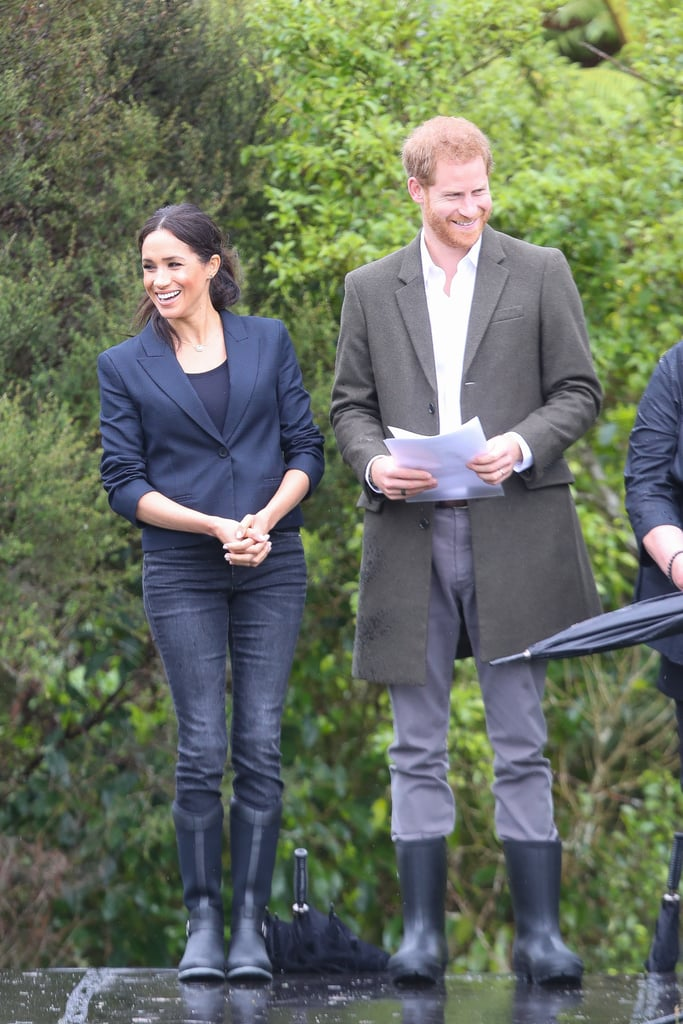 15b97aa0fd84a Meghan Markle's Muck Boot Company Reign Boots October 2018   POPSUGAR  Fashion