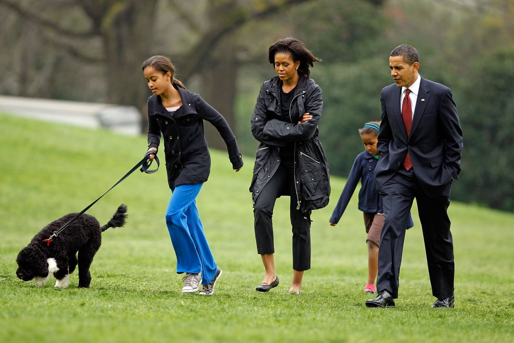 Barack and Michelle Obama's Statement After Dog Bo's Death