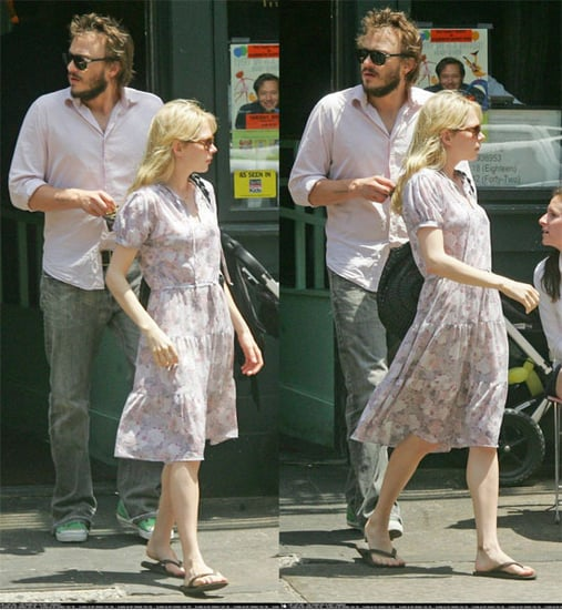 Heath and Michelle In NYC