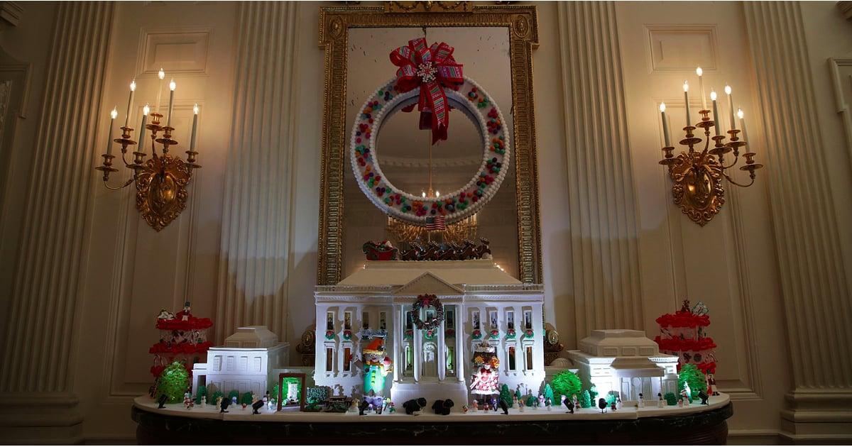 christmas home decoration 2016 white house decorations 2016 popsugar home 10590