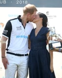 6d06267e2435476f GettyImages 1005664242 - Prince Harry and Meghan Markle Sneak In a Smooch After His Polo Match, and We're Swooning