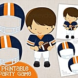 Pin the Helmet on the Player