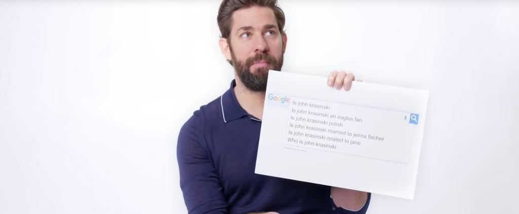 John Krasinski Answers Google Searches About Him