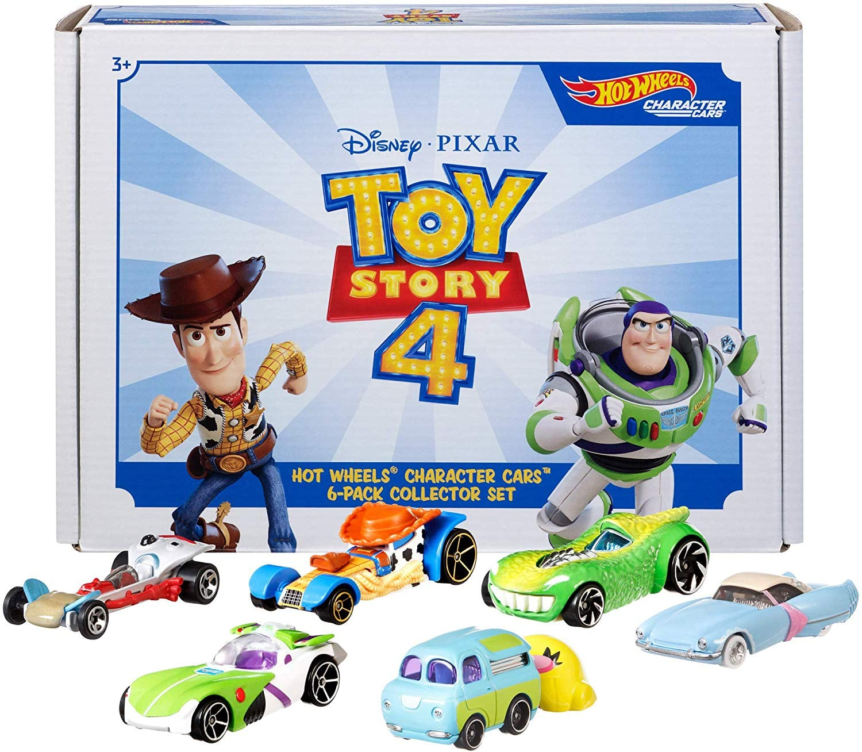 Hot Wheels Disney Pixar Toy Story 4 Character Cars Pack Disney S