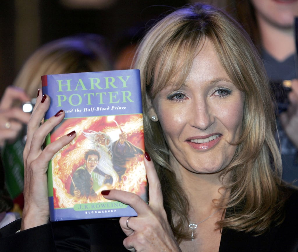 When J.K. Rowling Held Up Her New Masterpiece at Edinburgh Castle