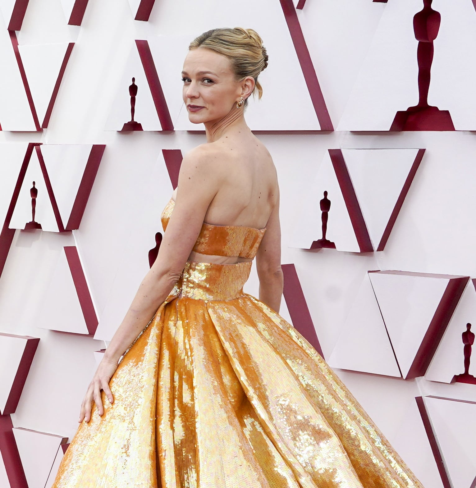 Carey Mulligan's Oscars Hairstyle Has a Hidden Detail | POPSUGAR Beauty