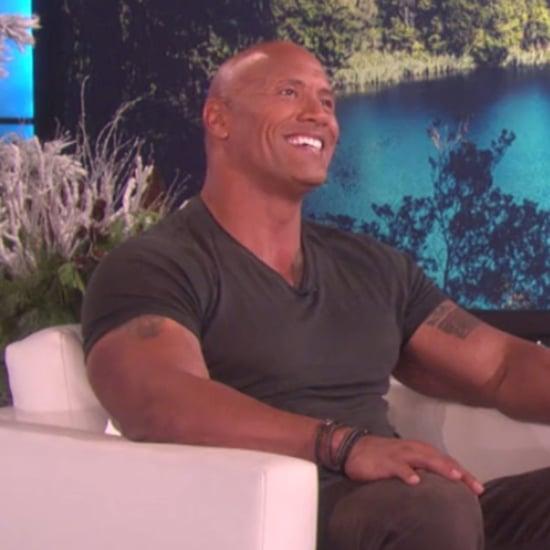 Dwayne Johnson on The Ellen DeGeneres Show November 2016