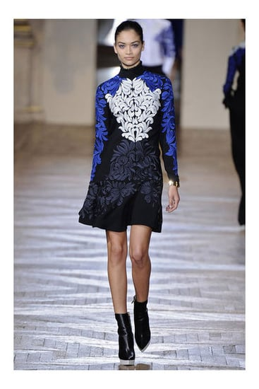 Review and Pictures of Stella McCartney Autumn Winter 2012 Paris Fashion Week Runway Show