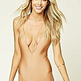 Forever 21 Plunging Scoop Back One Piece ($20)