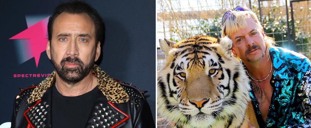 Nicolas Cage Cast as Joe Exotic in a Tiger King Series