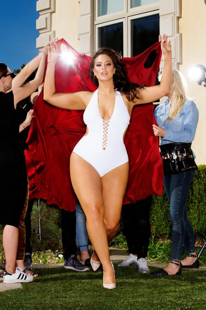 bd57f79ae207 Ashley Graham is wearing the Ashley Graham x Swimsuits For All VIP White  Swimsuit ($62