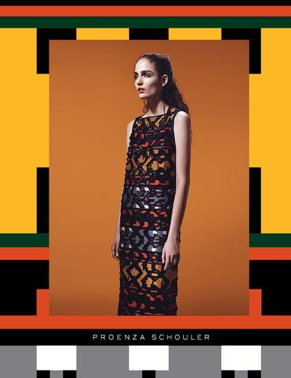Proenza Schouler Fall 2011 Ad Campaign — Zuzanna Bijoch