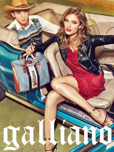 Galliano Spring 2012 Ad Campaign