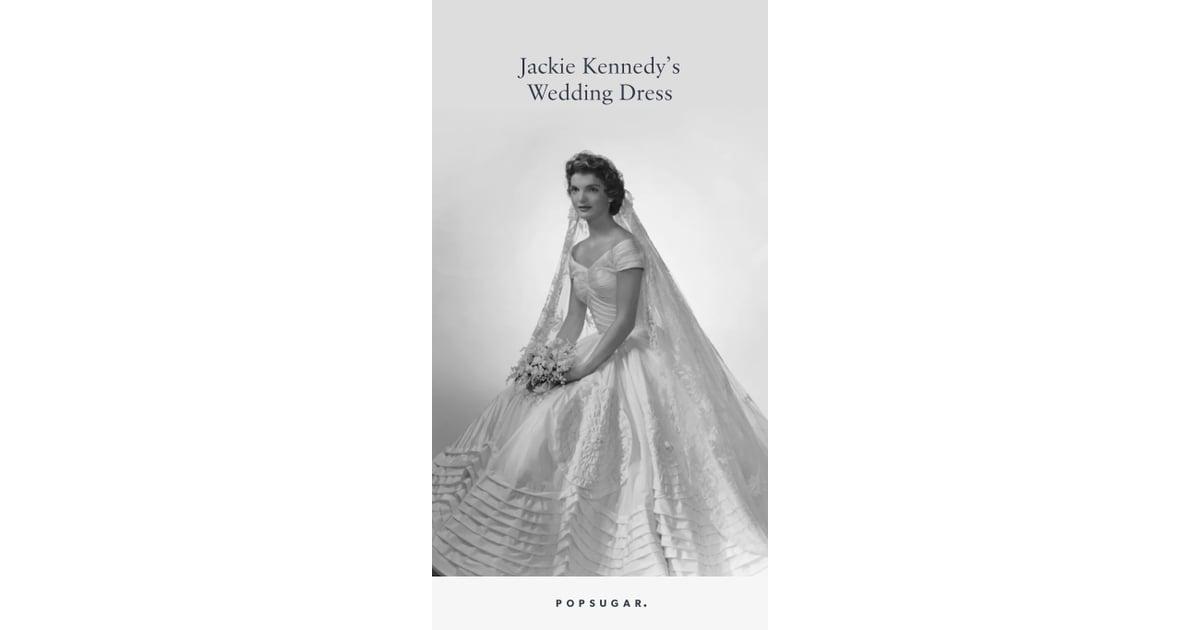 Jackie Kennedy Wedding Dress | POPSUGAR Fashion Photo 3