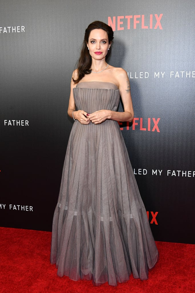 Angelina Jolie Wore a Dior Haute Couture